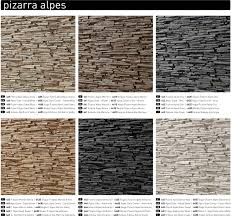 Wall Covering Panels by Contemporary Wall Coverings Stone Pizarra Alpes Faux Slate Wall