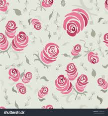 shabby chic wrapping paper vintage shabby chic seamless pattern stock illustration
