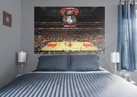 28 chicago wall mural wm75 chicago skyline at night wall chicago wall mural chicago bulls arena mural wall decal shop fathead 174 for