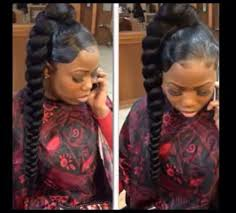 weave ponytails braided weave ponytail hairstyles hair