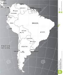 Political Map Of America by Political Map Of South America Royalty Free Stock Image Image