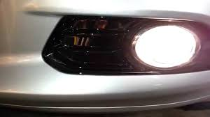 2013 ford f150 fog light replacement 2014 ford fusion titanium sedan testing fog lights after changing