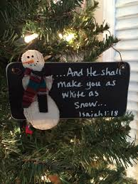 this ornament is a reminder of the true meaning of