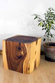 wood cube end table wooden cube end table home sweet home pinterest wooden cubes