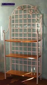 etagere in ferro battuto etagere in ferro battuto grandi gigli colore tempera