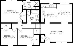 split floor house plans example6716 large 2 bedroom bath house