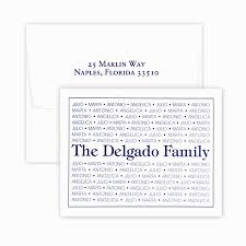 family pride note cards personalized