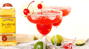 pomegranate margarita the shirley temple grew up and it u0027s even better as a margarita