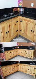 kitchen cabinets from pallet wood superior ideas you can make with shipping pallets diy
