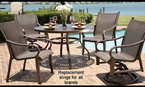 Fabric For Patio Chairs Slings For Patio Furniture Attractive Sling Hton Bay Chairs