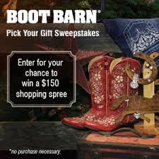 Western Boot Barn Australia Boot Barn U2013 150 Holiday Shopping Spree Sweepstakes Rc Giveaway