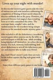 Rules Capture The Flag The Movie Murder Mystery Party Dennis Spielman 9781480140035