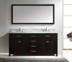 72 Inch Bathroom Vanity Single Sink Pleasing 60 Double Bathroom Vanities With Square Sinks Design