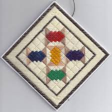 spoolies plastic canvas needlepoint quilt ornament