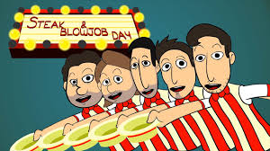 Funny Blow Job Meme - the steak and a bj day song animated music video youtube