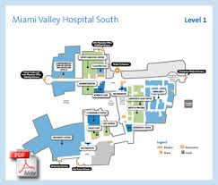miami valley hospital u2013 campus and building maps