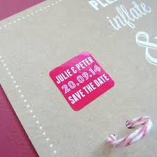 save the date in wedding save the date balloon cards by white knot
