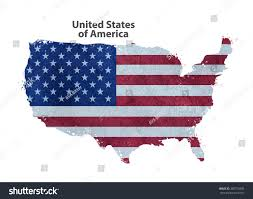View Map Of The United States by Map Usa Stock Vector 389725036 Shutterstock