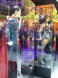 batman superman pictures reveal woman costume collider