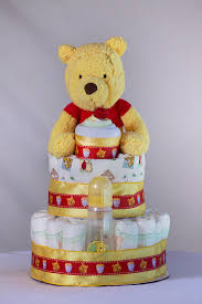 winnie the pooh baby shower the winnie the pooh cake baby shower centerpiece or gift