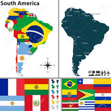 colombia map vector south america in world map okl mindsprout co