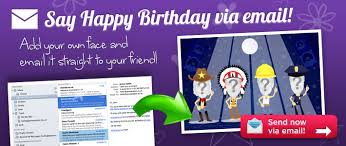email birthday cards ecards
