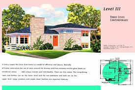 mid century ranch floor plans mid century ranch home plans house floor nikura top design
