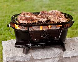 lodge l410 pre seasoned sportsman u0027s charcoal grill review