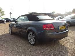 audi a4 2007 convertible used audi a4 2007 automatic petrol 3 2 fsi s line grey for sale uk
