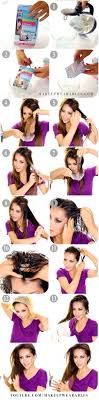 heatless hairstyles for thin hair lazy heatless curls overnight grow your hair faster longer
