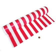carnival themed plastic table cloth roll 100