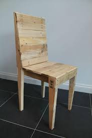 Reclaimed Pallet Dining Chair Pallet Furniture DIY Karls - Diy dining room chairs