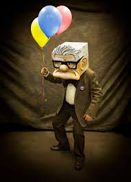 a mason says what carl fredricksen from up movie halloween