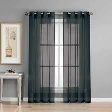 Sheer Elegance Curtains Sheer Elegance Curtain Panel Pairs Walmart