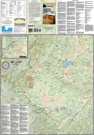 Map Of Southern Utah by Bryce Canyon Brian Head Utah Trail Map Utah Adventure Maps
