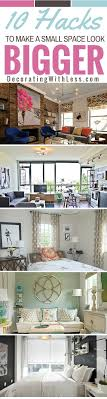 10 home decor ideas for small spaces from unnecessary 237 best small space living images on pinterest organization ideas