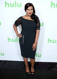 mindy kaling steps out in form fitting dress amid pregnancy