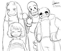 my fav sketch undertale character from toby fox by mister525 on