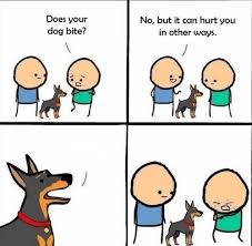 Meme Cartoon Generator - does your dog bite meme generator imgflip