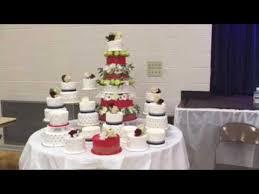Big Wedding Cakes A Very Big Wedding Cake Samoan Wedding Youtube