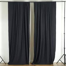 10 ft x 10 ft polyester professional backdrop curtains wedding