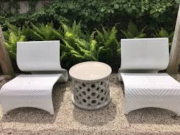 concrete outdoor side table dohnet concrete outdoor side table mecox gardens