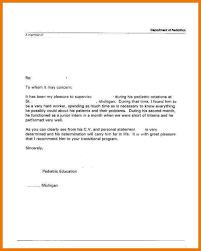9 a simple recommendation letter sample kozanozdra