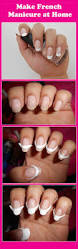 80 best nails french manicure images on pinterest make up