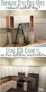 21839 best save home decor ideas images on pinterest home a shaker white farmhouse kitchen cabinets rta ready to assemble steel fox home blog renovation story simple modern farmhouse style decor before and after
