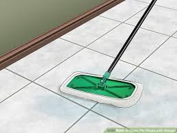 how to clean tile floors with vinegar 11 steps with pictures