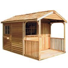 shop wood storage sheds at lowes com