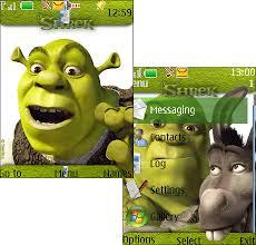 shrek 3 theme java download
