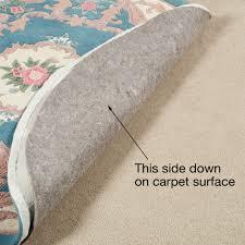 Rug On Carpet Pad Duo Lock Rug Pad