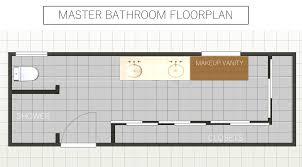 master bathroom floorplan simplified bee
